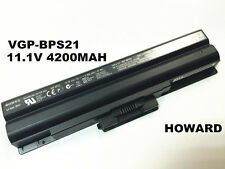 New original genuine VGP-BPS21 battery VGP-BPS21A VGP-BPS21B 11.1V 4200mah 6cell