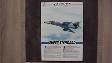 Catalogue DASSAULT - Super Etendard