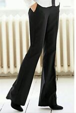 BNWT��Next Tailoring ��Size 10 Long Black Stretchy Smart Kick Flare Trousers New