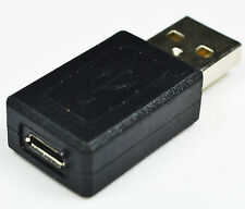 Micro USB Female to USB A Male Adapter Converter Connector Male 2 Female Adapter