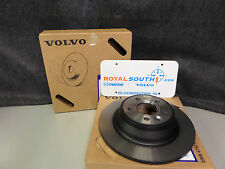 Genuine Volvo V70-S60-XC90 Front Wheel Rotor Set OE OEM 30736406
