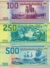 Tortuga set 6 banknotes 2014 (private issue)