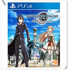 PS4 Sword Art Online SAO Hollow Realization Bandai Namco Games Action