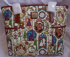 NWT Disney Belle Beauty and The Beast Dooney & Bourke Shopper Tote Purse Bag 3