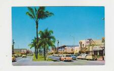 Chula Vista,CA.Third Ave.Looking North,Vintage Cars,San Diego Co.c.1950s