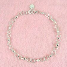 Sterling Silver - 10 Inch Anklet (AK069)