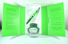 2013 Special Edition Pelikan M205 Green Demo Fountain Pen Highlighter Nice !!