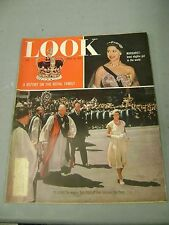 LOOK APRIL 19 1955 QUEEN ELIZABETH PHILLIP MARGARET ROYAL FAMILY