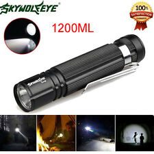Sky Wolf Eye Zoomable 1200LM Waterproof Cree Q5 LED 14500 Lamp Mini Flashlight