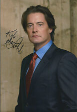 Kyle MACLACHLAN Signed Autograph 12x8 Photo AFTAL COA Desperate Housewives RARE