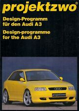 Audi A3 3-dr Projektzwo Bodystyling & Tuning Accessories 1998 German Brochure