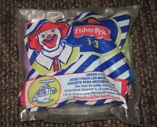 2005 Fisher Price McDonalds Happy Meal Under 3 Toy - Helicopter - RARE