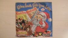 Peter Pan Records WHEN SANTA GETS YOUR LETTER 45rpm X-16 1956
