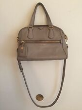 Marc by Marc Jacobs Gray Crossbody Leather Bag