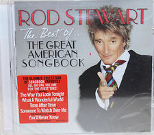 The Best Of... The Great American Songbook by Rod Stewart  CD New Sealed