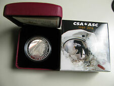 2014 Proof $20 25th Anniversary Canadian Space Agency CSA Canada .9999 silver