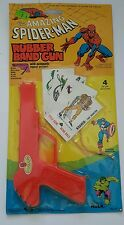 Spiderman rubber band gun  1978 gordy