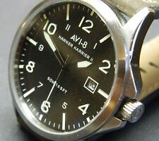 AVI-8 Hawker Harrier ll:AV-SET1-01:45mm:50m w/r:Stainless:British & collectible: