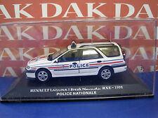 Die cast 1/43 Renault Laguna 1 Break Nevada RXE 1998 Police Nationale