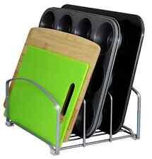 Cookie Sheet Cutting Board Rack Organizer Storage Holder Pantry Cabinet Kitchen