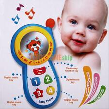 Developmental Baby Kids Musical Sound Cell Phone Toys Educational Musical Toy