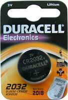 10 x Duracell CR2032 3V Lithium Coin Cell Battery 2032