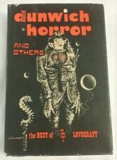 H P Lovecraft The Dunwich Horror & Others 1963 1st Ed Arkham House 1/3000 DJ HB