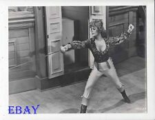 Jill St. John busty w/sword VINTAGE Photo King's Pirate