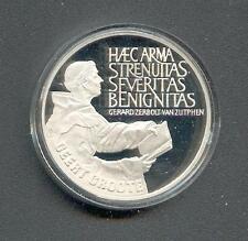 25 ECU  Niederlande  Geert Grote  Silber  1990