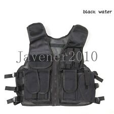 Outdoor military combat tactical vest multi-function protective wargame vest
