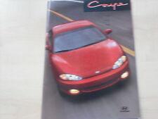 54104) Hyundai Coupe Österreich Prospekt 199?