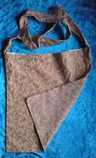 Huge shoulder bag festival hippy shopping holiday ECO burgundy gold pattern