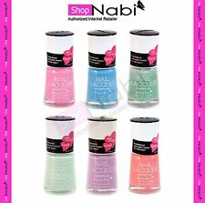 6 PASTEL COLLECTION Nabi Nail Polish Lacquer