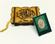 #8 Car Hanging Mini Quran Selected Surah Islamic Gift Wooden Muslim Prayer
