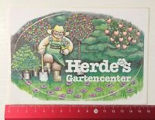 Aufkleber/Sticker: Herde's Gartencenter (06051691)