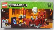 LEGO MINECRAFT The Nether Fortress 21122 Age 8+ 571 Pieces  SEALED NEW UK