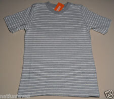 Gymboree boy v neck gray striped tee shirt size 5 NWT top boys 100% cotton