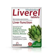 Vitabiotics Liverel 60 Vitamin Tablets Liver Health