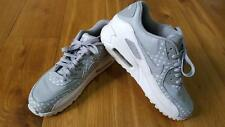 "Nike Air Max 90 ID Trainers Polka Dot GREY WHITE ""smiles"" UK 8 RARE 455686 995"