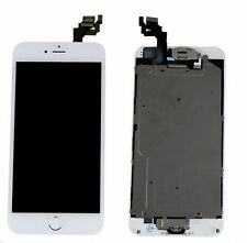 White LCD Touch Screen Digitizer Replacement for iPhone 6 Plus with Gold Button
