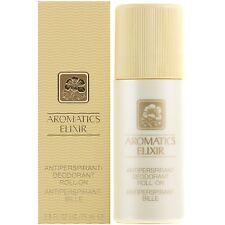 Deodorant  pour femme Clinique Elixir Aromatics 75ml Neuf Authentique