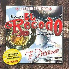 Te Presumo by La Banda el Recodo (CD, Nov-2008, Fonovisa)