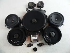 04-10 AUDI A8 A8L SPEAKER SPEAKERS SET DOOR FRONT REAR SUB WOOFER BOSE OEM