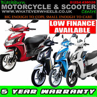 Sym Jet 4 50cc Moped Sports Learner Legal Automatic Rev N' Go Scooter