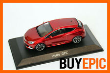 Motorart Opel Astra J GTC OPC, Red, Red, Model car 1:43, Dealer, NIP