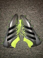 Adidas Ace 16.1 Primeknit FG Soccer Cleats S76469 Men Size 8.5 Silver Yellow