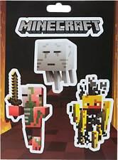 Minecraft - Mobs Nether Stickers Set NEW * mine craft ghast pigman blaze sticker