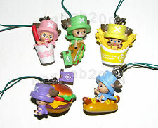 Bandai one Piece Burger chopper Chopperman strap figure (full set of 5 figures)