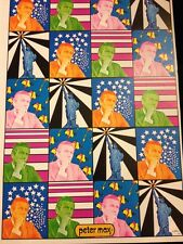 Peter Max Mayor Lindsay NYC 1970 Pop Rare Political Psychedelic Wall Art Poster