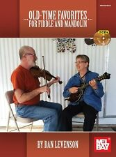 Dan Levenson Old-Time Favourites Learn to Play Fiddle Mandolin Music Book & CD